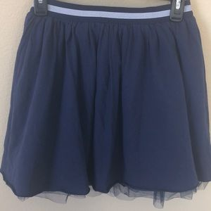 💕3 for $15💕Tommy Hilfiger Girls Navy Tulle Skirt